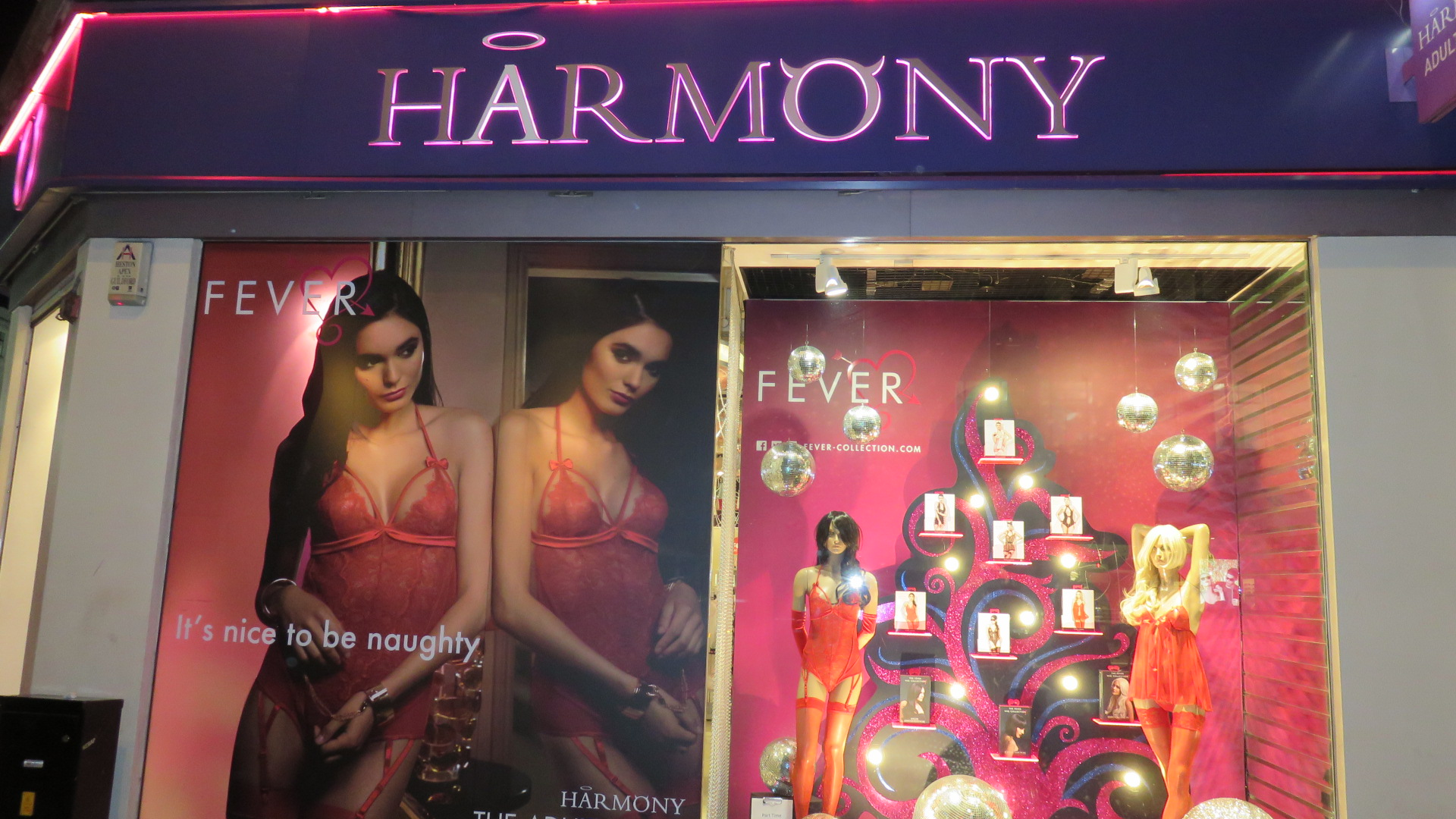 Harmony Store Lingerie Christmas Tree