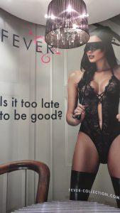 Fever Lingerie Display - Harmony Store