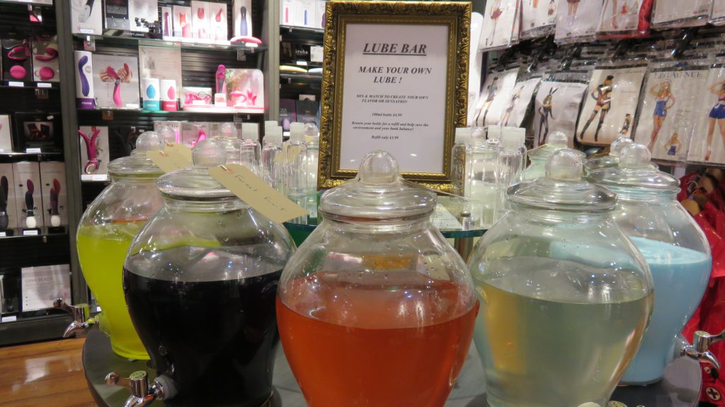 Harmony Bar lubricant cocktails