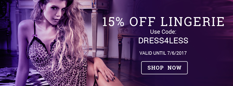 15% off Lingerie at Harmony Store