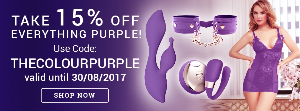 Purple Promotion at Harmony Store
