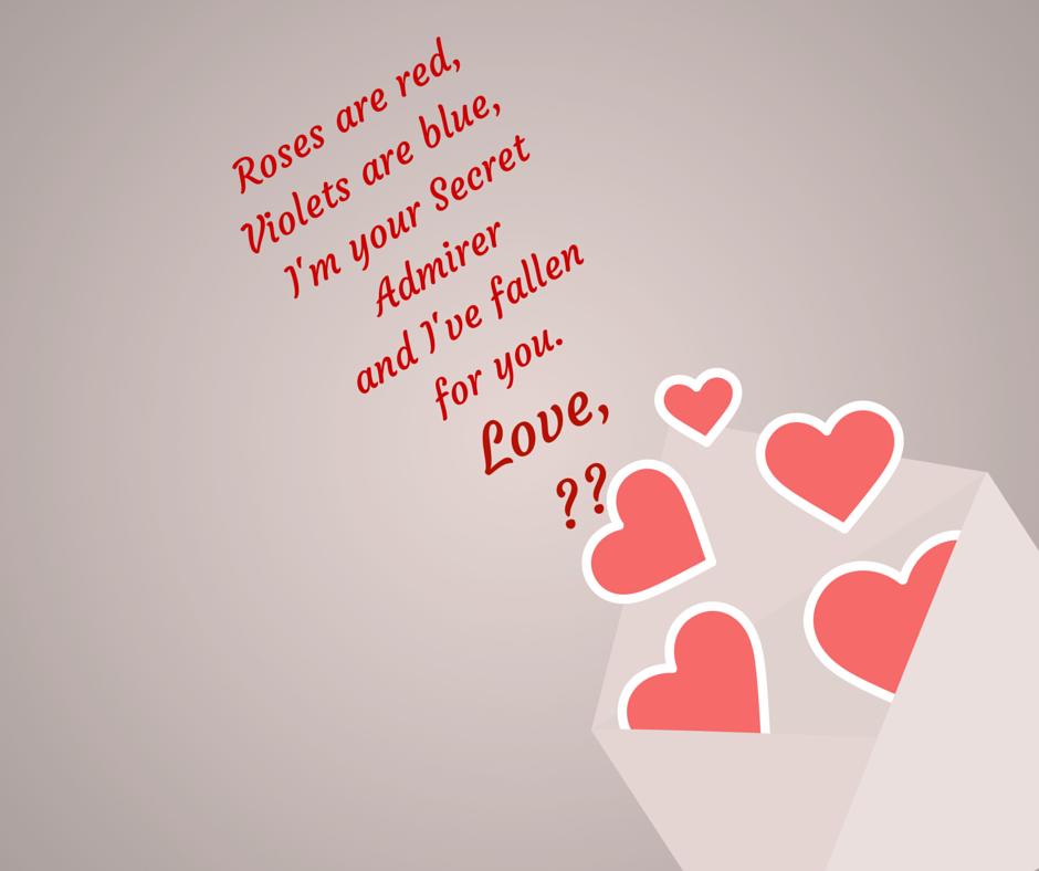 Secret Admirer Valentines Single