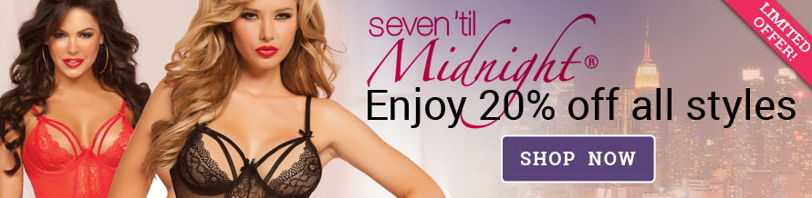 Seven Til Midnight Lingerie Banner