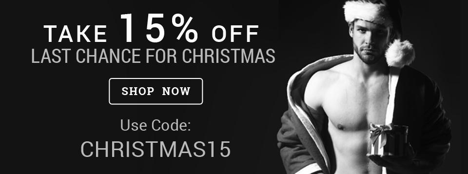 15% Off for Christmas