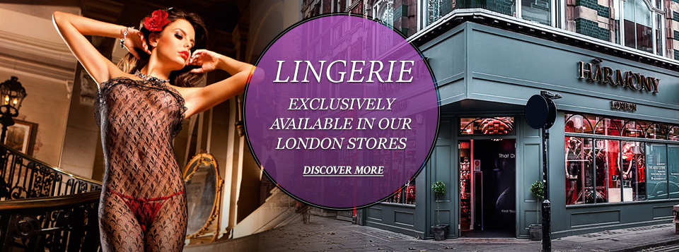 Lingerie - exclusively available in our London stores