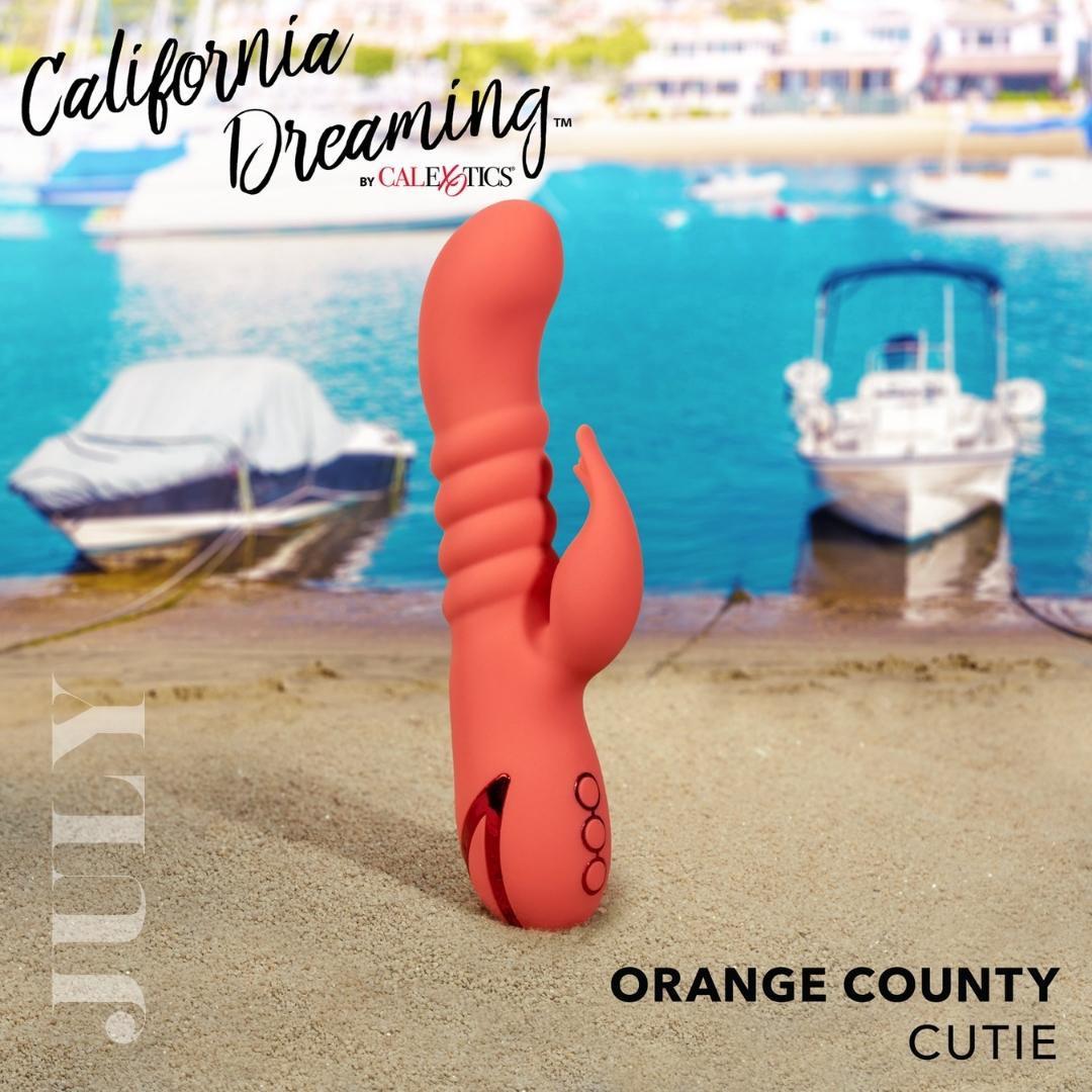 Orange County Cutie Thrusting Vibrator