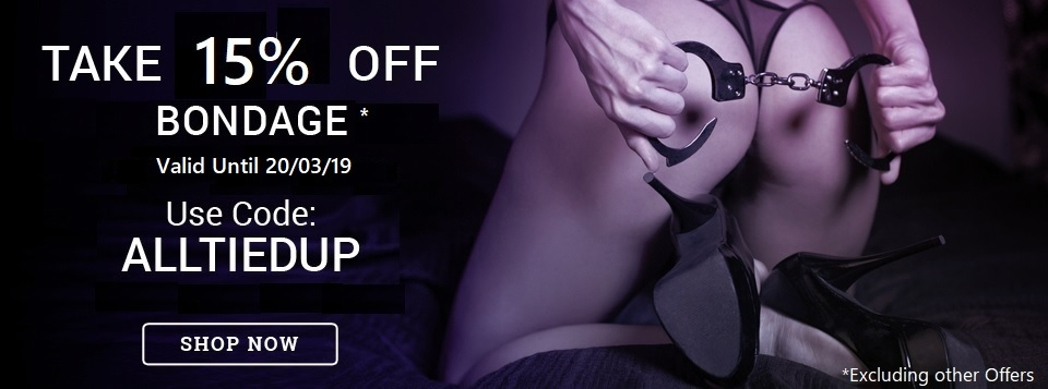 15% Off Bondage at Harmony Store