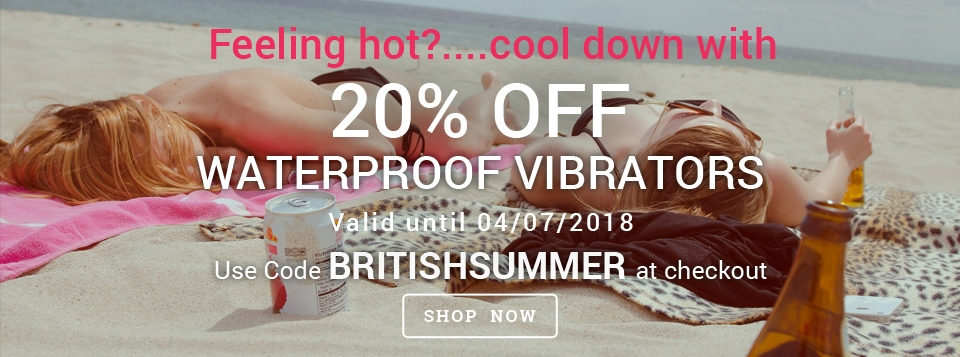 20% off waterproof vibrators at Harmony Store